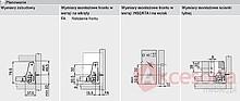 Tandembox ANTARO Wys.N=68mm dł.50cm 30kg BIAŁA Hamulec - Blum