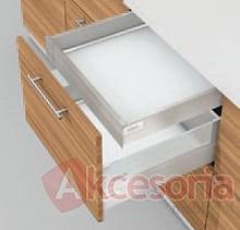 Zestaw elementów do wykonania szuflady WEWNĘTRZNEJ Tandembox Intivo z hamulcem BLUMOTION. Do samodzielnego montażu. Bok M=83mm Długość prowadnic 600mm...