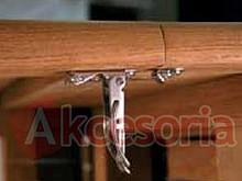Prowadnice i okucia do stołów Zaczep Stołu 22 Ocynk SISO - Siso