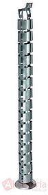 Pionowe prowadzenie kabli do stołu o wysokości 1280mm (wersja z ogniwami) wykonane z tworzywa sztucznego. Występuje ono z obejmą odciążającą,...