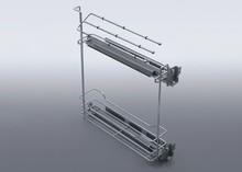 Cargo Mini Boczne MAXIMA Prawe 15 L-500 na ręczniki Metal Chrom  *prowadnice pełnego wysuwu BLUM z miękkim dociągiem *mocowanie frontu...