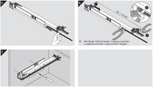 Stabilizacja Do Prowadnic Tandem 560H o dł. do 41cm z BLUMOTION - Blum