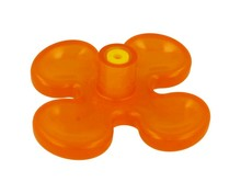 Gałka K074 pomarańczowy kwiatek - Schwinn