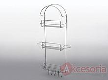 Wieszak na rurę odkurzacza MIX Wyrób może uzupełniać wyposażenie szafy garderobnianej. Wieszak ten umożliwia przechowywanie elementów odkurzacza,...
