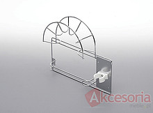 Wieszak na rurę odkurzacza mały Wyrób może uzupełniać wyposażenie szafy garderobnianej. Wieszak ten umożliwia przechowywanie elementów odkurzacza,...