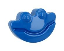 Dziecięca gałka firmy GAMET z kolekcji HAPPY FROGS niebieska W skład kolekcji wchodzą również uchwyty DU05-0096-R0065 oraz wieszaki DW05-R0065