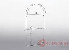 Wieszak na rurę odkurzacza duży Wyrób może uzupełniać wyposażenie szafy garderobnianej. Wieszak ten umożliwia przechowywanie elementów odkurzacza,...