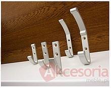 Wieszaki Wieszak Aluminiowy WA02 Naturalne Aluminium - Gamet