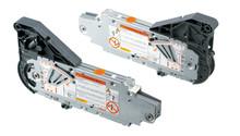 Siłowniki 20L2100.05 z białymi zaślepkami 20l8000 to element systemu AVENTOS HL kompatybilny z SERVO-DRIVE. Siłowniki do systemu AVENTOS HL, który unosi...