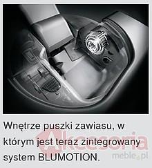 Zawiasy Zawias CLIP Top 110° 71B3590 Drzwi Nakładane HAMULEC, INSERTA - Blum