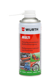 Płynny smar wielofunkcyjny MULTILUBE. Nie zawiera silikonu, żywic i kwasów. Nie niszczy gumy, lakierów i tworzyw sztucznych.  Usuwa rdzę, smaruje,...