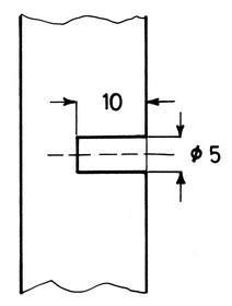 Kątowniki Wsporniki półek Uchwyt Do Szkła gr.6-10mm Z BLOKADĄ Niklowany A0683372118 Wurth - Würth