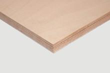 Sklejka 6,5 mm (1250x2500) Wilgocioodporna 2/3 Buk Jednorodna