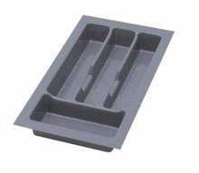 UNI wkład do szuflady 30 wykonany z trwałego i estetycznego tworzywa w kolorze metalicznym o gładkiej fakturze. Pozwala optymalnie wykorzystać przestrzeń...