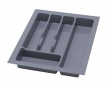 UNI wkład do szuflady 40 wykonany z trwałego i estetycznego tworzywa w kolorze białym. Pozwala optymalnie wykorzystać przestrzeń i zachować porządek....