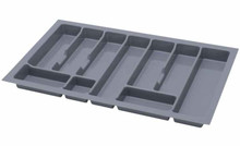 UNI wkład do szuflady 80 wykonany z trwałego i estetycznego tworzywa w kolorze białym. Pozwala optymalnie wykorzystać przestrzeń i zachować porządek....