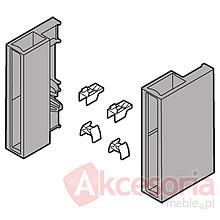 Szuflady BOXSIDE Metal Z37A CZARNY Do ANTARO Dł.45cm Wys.D 2szt+Mocowanie - Blum