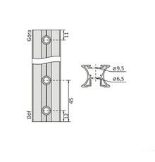 Szablon Do Wiercenia Otworów W Rączkach Systemu 10 mm - Aluprofil