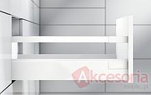 Tandembox ANTARO Wys.D=M+1Reling Dł.45cm/Szer.80cm SZARA Hamulec - Blum
