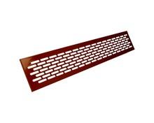 Kratka wentylacyjna aluminiowa 80 - Kolor lakier wiśnia WE12.0002.07.139  Wymiary kratki: Długość - 1,65cm Wysokość - 8,2cm Szerokość -...