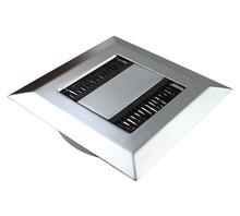 Przepust RECTA fi80x13mm Aluminium - Siso