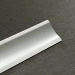 Listwa przyblatowa wykonana z tworzywa sztucznego.  Całkowita długość - 3000mm. Kolor - Aluminium Satyna 611