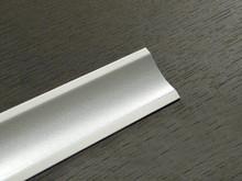 Listwa przyblatowa aluminium satyna 611 (K) L3000 tworzywo - IMPORT