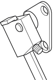 Podnośniki Rozwórka samohamowna do klap Dorana-Stop L-190mm Lewa - Häfele