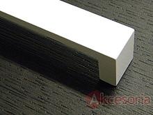 Uchwyt Aluminiowy UA59  Biały Mat Rozstaw 128mm - Gamet