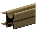 Rączka aluminiowa dwustronna w kolorze jasny brąz do płyty o grubości 18 mm. ( Valcomp )  Aluminiowy profil wykończeniowy do drzwi przesuwnych w...