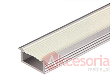 Profil Wpuszczany Aluminiowy do Taśmy LED 833.72.810  Profil do montażu wewnętrznego z matowaną osłoną, wykonane z aluminium eloksalowane na srebro do...