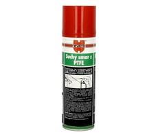 Suchy smar z PTFE 300ml SPRAY Szczególnie polecany do prowadnic w szafach wnękowych, oraz elementach obrabiarek. Po zastosowaniu nie przywiera kurz i piach....