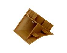Listwy Narożnik listwy przyblat (K) LB23 zew.tworzywo dąb 654 - IMPORT