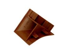 Narożnik listwy przyblat (K) LB23 zew.tworzywo ciemny brąz 604 - IMPORT