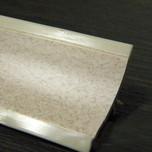 Listwa przyblatowa wykonana z tworzywa sztucznego.  Całkowita długość - 3000mm. Kolor - rumba 653