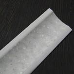 Listwa przyblatowa wykonana z tworzywa sztucznego.  Całkowita długość - 3000mm. Kolor - stone bianko 601