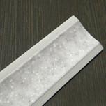 Listwa przyblatowa wykonana z tworzywa sztucznego.  Całkowita długość - 3000mm. Kolor - stone grigio 614