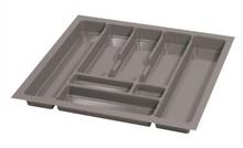 PRO wkład do szuflady 60 wykonany z trwałego i estetycznego tworzywa w kolorze metalicznym o gładkiej fakturze. Pozwala optymalnie wykorzystać przestrzeń...