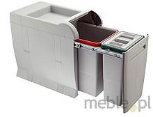 Sortownik na śmieci ELLETIPI oznaczony kodem PTA3045A to najmniejszy model w serii CITY.  Posiada dwa kubły: mały o pojemności 8 litrów i duży o...