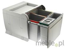 Sortownik na śmieci CITY PTA8045B 2x18L + 2x8L - Elletipi