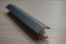Narożnik 135st. uniwersalny do Cokołu 10cm aluminium szczotkowane  Dzięki narożnikom do cokołu można w prosty sposób nadać odpowiedni kąt 135st....
