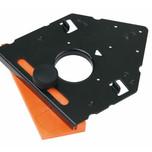 Wzornik wiertarski 65.055A ułatwiający montaż zawiasów Clip Top firmy Blum Służy dodo nawiercania otworów mocujących zawias na wkręty....