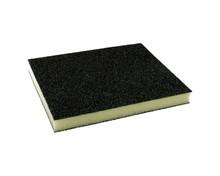 Elastyczna gąbkaszlifierska do szlifowania elementówz drewna i metalu(nasyp korundowy) Rozmiar 125x100x10 mm. Ziarnistość 60...