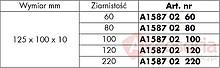 Elastyczna Gąbka Szlifierska 220-ka Do Drewna i Metalu Wurth - Würth