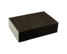 Gąbkaszlifierska gruba do szlifowania elementówz drewna i metalu(nasyp korundowy) Rozmiar 100x68x25 mm. Ziarnistość 80  Papier...