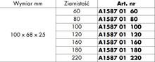 Gruba Gąbka Szlifierska 80-ka Do Drewna i Metalu Wurth - Würth