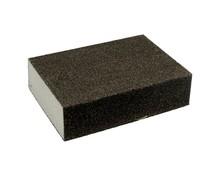 Gąbkaszlifierska gruba do szlifowania elementówz drewna i metalu(nasyp korundowy) Rozmiar 100x68x25 mm. Ziarnistość 100  Papier...