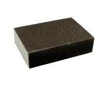 Gąbkaszlifierska gruba do szlifowania elementówz drewna i metalu(nasyp korundowy) Rozmiar 100x68x25 mm. Ziarnistość 120  Papier...