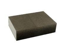 Gąbkaszlifierska gruba do szlifowania elementówz drewna i metalu(nasyp korundowy) Rozmiar 100x68x25 mm. Ziarnistość 180  Papier...