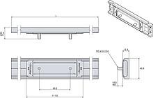 Wózek do prowadnic DA0115RC/DA0115RCH Kulki stalowe Accuride - Accuride